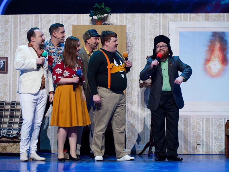 Команда КВН «Селивановы», г. Ульяновск дарит Вам свой семейный КОЛОРИТ
